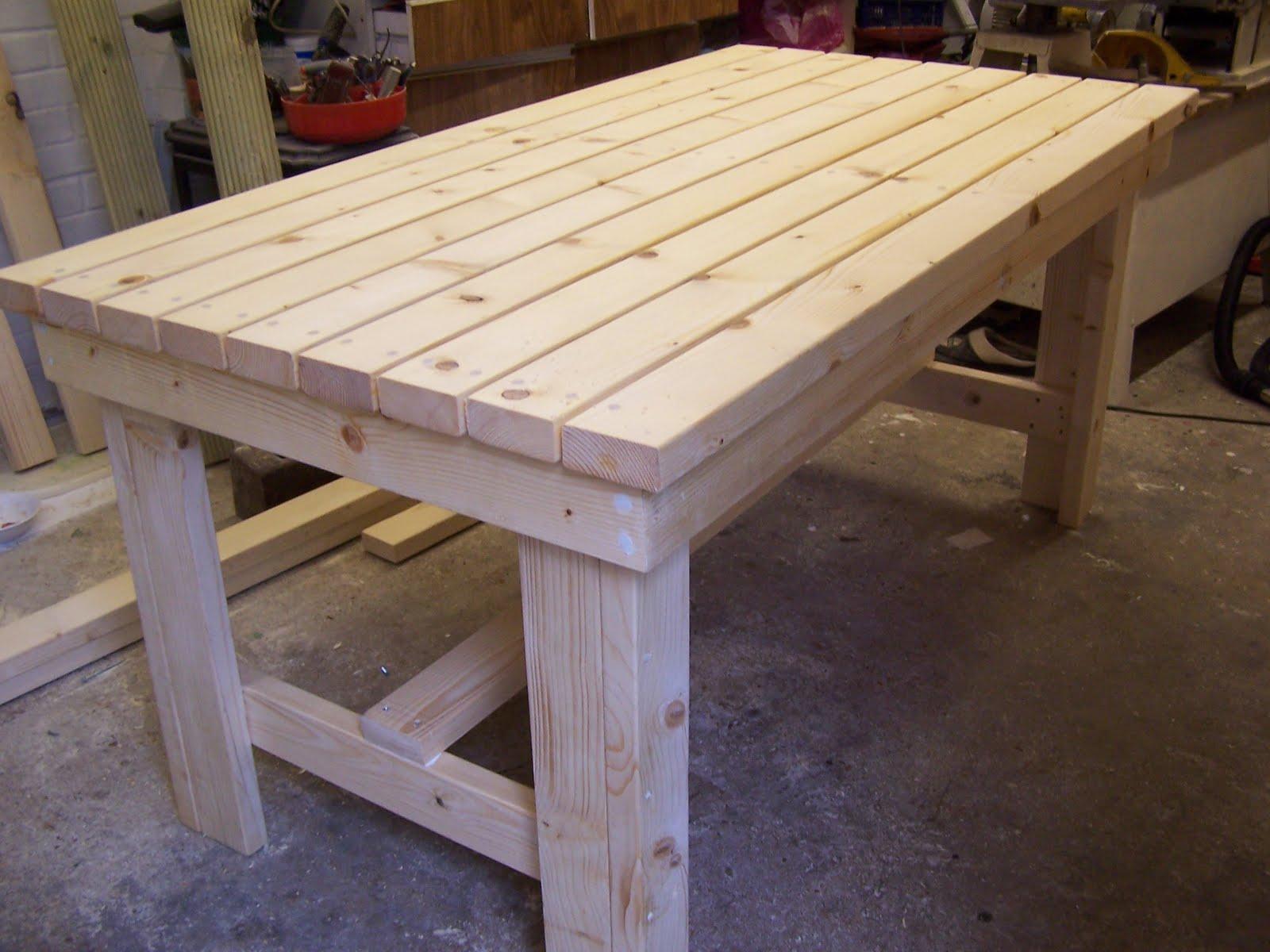 Muebles gratis con palets mesas mas o mesas menos - Mesa de palets ...