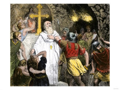 A leader in the early Christian Movement is arrested by Roman authorities.