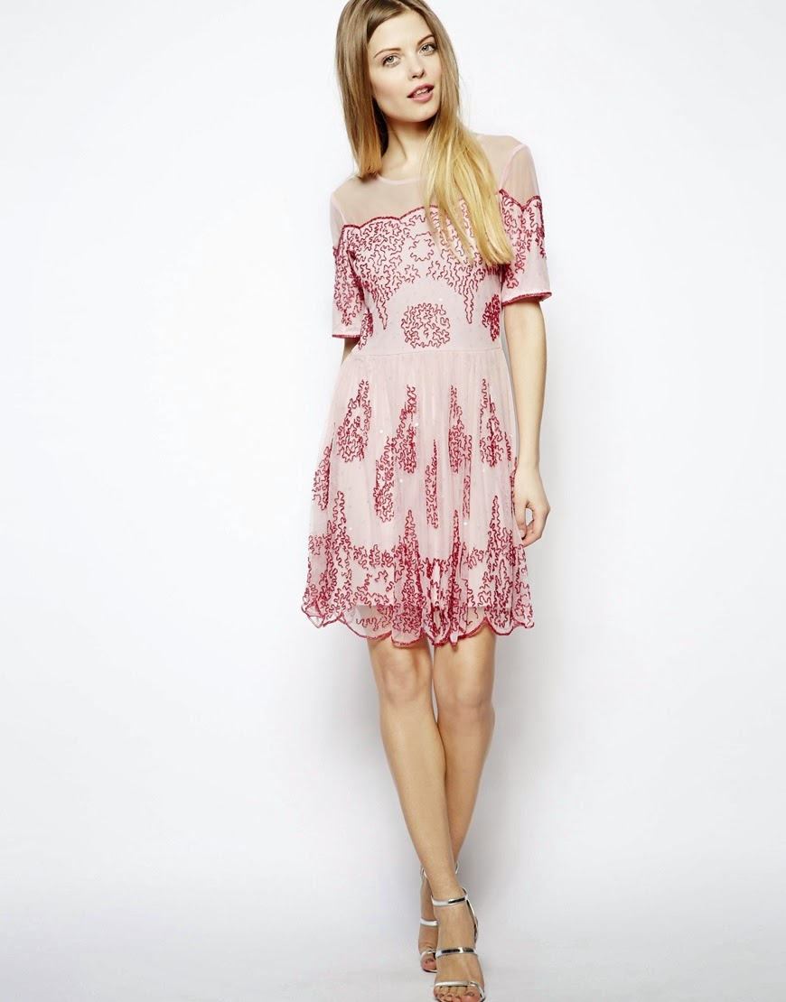 asos pretty dress