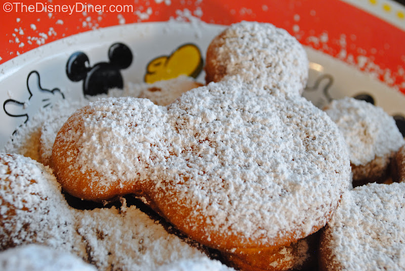 The Disney Diner: Disneyland's Cafe Orleans: Mickey Beignets Recipe