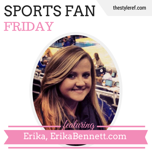 Sports Fan Friday: ErikaBennett.com