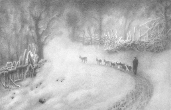 Туман рисунки