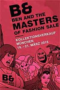 Kollektionsverkauf bei Modeagentur BEN and München an 3 Tagen - Start am 19.03.2015