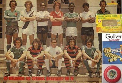 Botões para Sempre completou os Gulliver 'carinhas' 1977-78