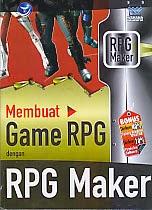 toko buku rahma: buku MEMBUAT GAME RPG DENGAN RPG MAKER, pengarang wahana komputer, penerbit andi