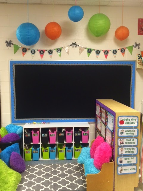Classroom Decoration Ideas For Pre Primary School ~ Kindergarten squared classroom reveal