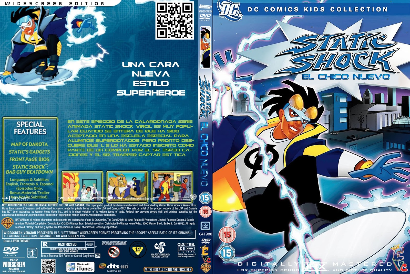 Static Shock The New Kid Dvd