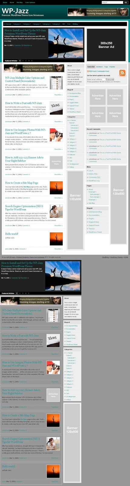 WP-Jazz Premium WordPress Theme
