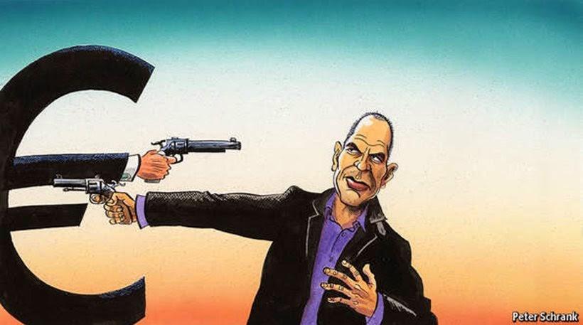 "Economist: ""Είναι απογοητευτικό για μία κυβέρνηση που παρά την υψηλό ποσοστό δημοφιλίας στη χώρα της, ότι έχει κατασπαταλήσει κάθε ευκαιρία να βελτιώσει την θέση της και τη θέση της στο ευρώ"". Κοινώς, ο Σύριζα τα έκανε θάλασσα"