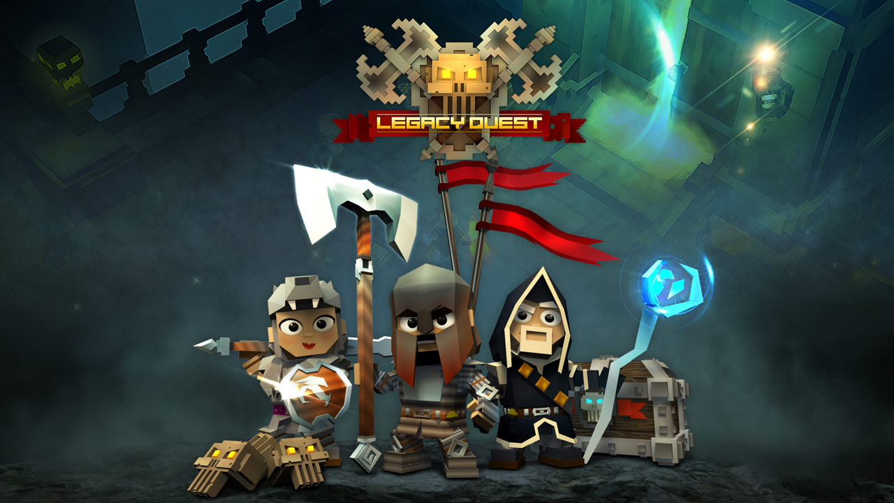 Legacy Quest Gameplay IOS / Android