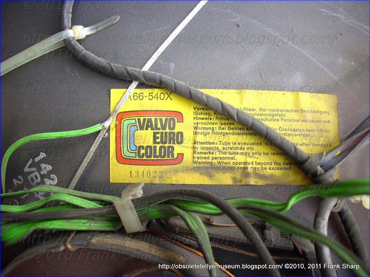 Obsolete Technology Tellye Grundig St70 466 Chassis Cuc4635 Crt St 70 Tube Moreover Vacuum Op S On Pin Diagram Valvo Hat In Seiner 50jhrigen Geschichte Viele Beitrge Zur Entwicklung Der Elektronischen Technik Deutschland Geleistet