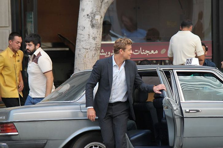 The Mentalist - Season 7 - BTS Set Photos - 6th August 2014