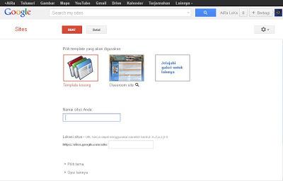 Cara Upload File Ke Google Site