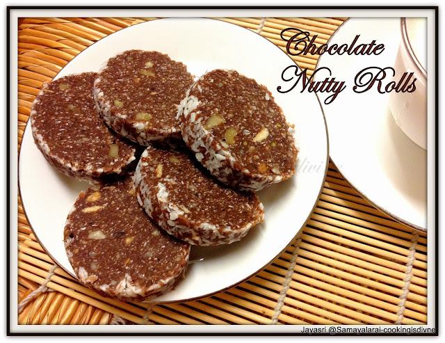Chocolate Nutty Rolls