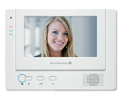 Enterview 5C-HF video kit with hands free - Color Handsfree Video Door Entry System
