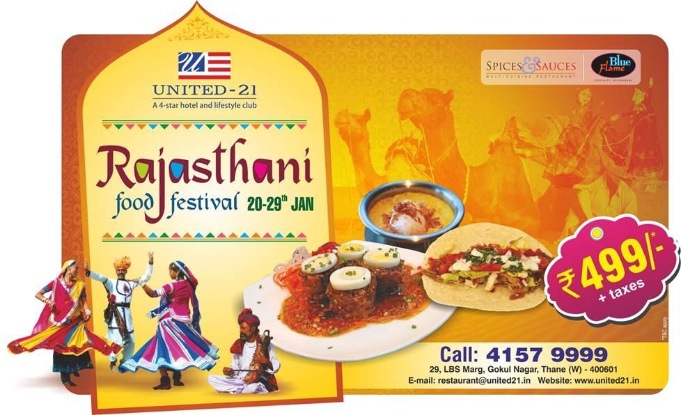 Panoramic Universal Rajasthani Food Festival At Hotel