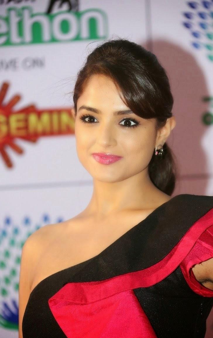 Asmitha Sood In Black Dress Spicy Stills