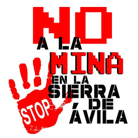 No a la mina en la Sierra de Ávila