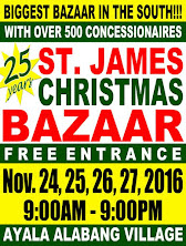 Shop at St. James Christmas Bazaar
