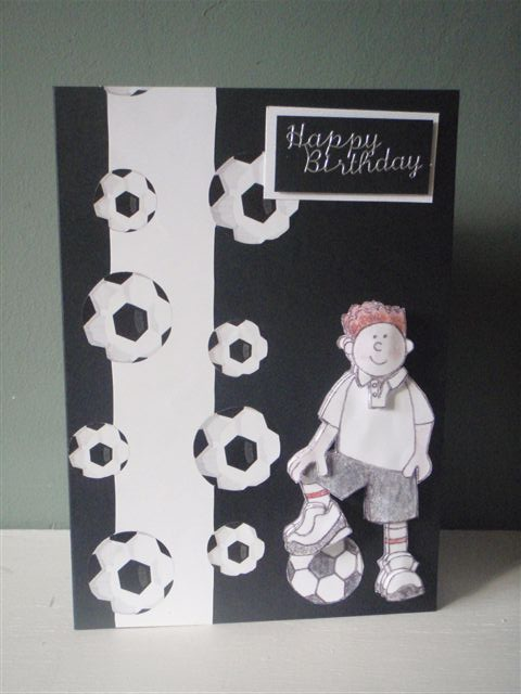 Открытка с днем рождения для мальчика своими руками