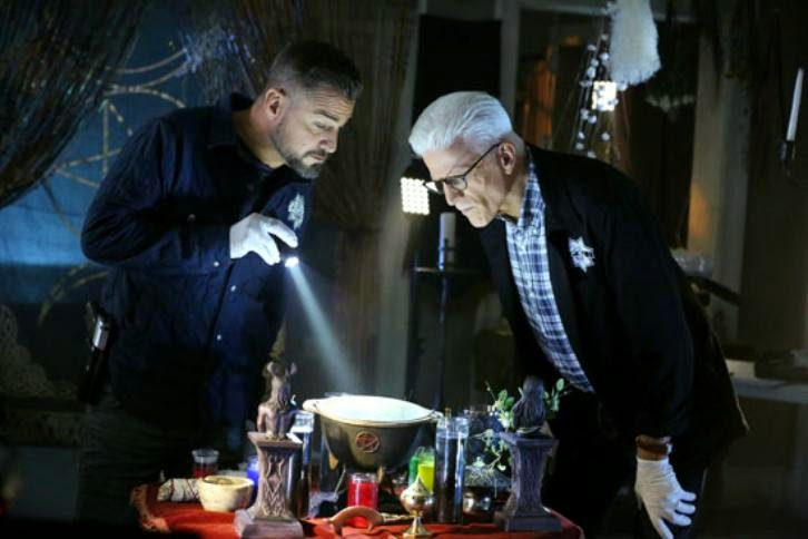 CSI: Las Vegas - Episode 15.04 - The Book of Shadows - Press Release