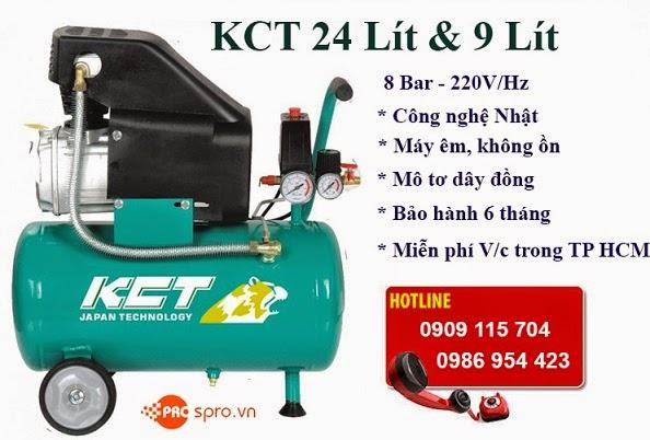 Máy nén khí Mini 3/4 HP KCT Dung tích 9L