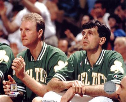 Kevin Mchale Larry Bird Larry Bird and Kevin