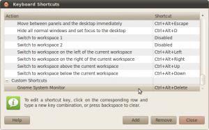 CTRL-ALT-DEL in Ubuntu Platform