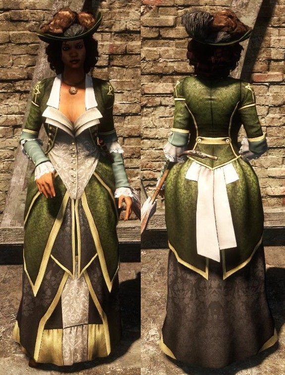 First Person Knitter: Fashion in Assassin\'s Creed Bits and Pieces