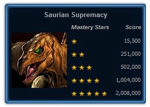 Mission 1 - Saurian Supremacy
