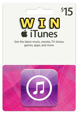 http://damninapppurchases.com/win-a-free-15-itunes-gift-card/