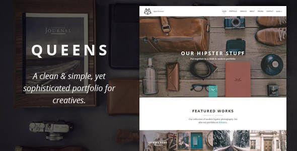Best Creative One-page Drupal Theme