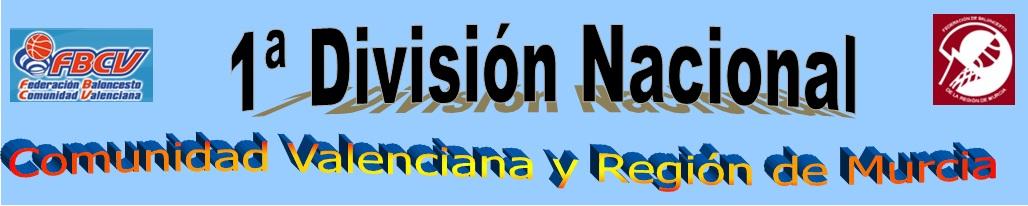 1ª División Nacional Comunidad Valenciana-Región Murcia