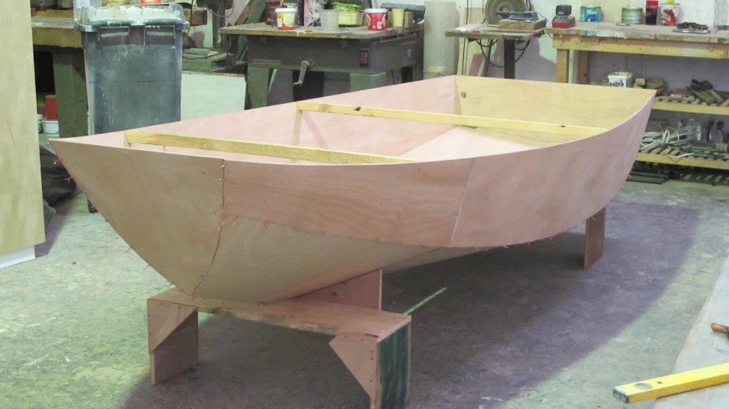Ckd boats roy mc bride mirror mirror dinghy kits for Mirror yacht