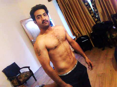 Jr NTR Six Pack Body Photo