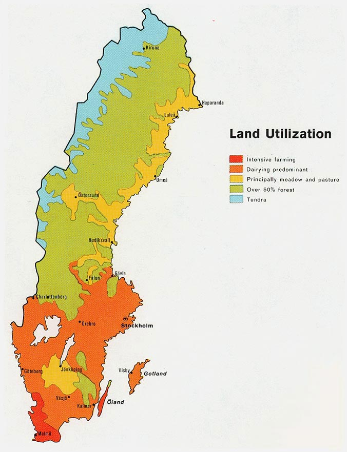 sweden physical geography