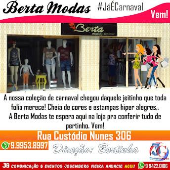 BERTA MODAS CHEGOU A COLEÇÃO CARNAVAL 2017