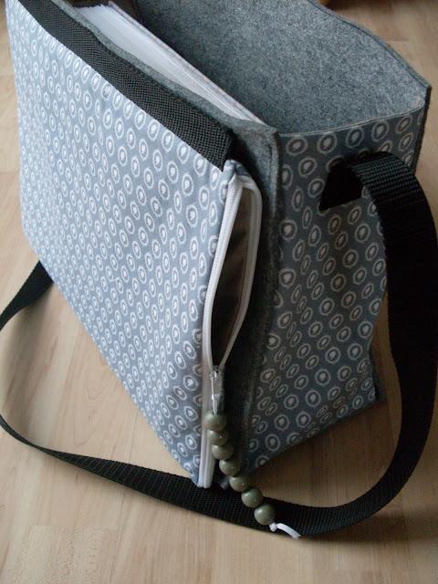 Alex lernt nähen: Umhängetasche für Schulsachen - Schultasche