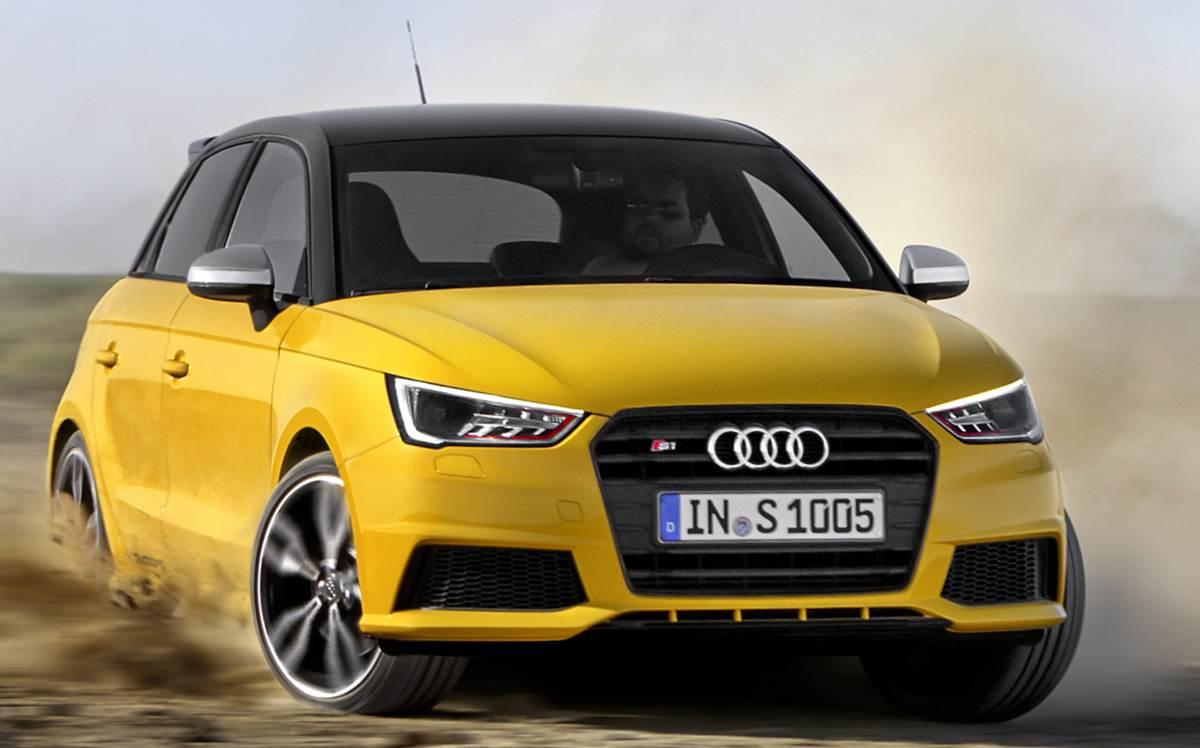 Novo Audi S1 Quattro 2015