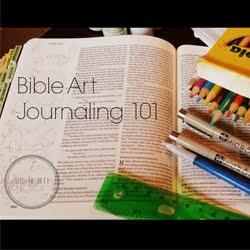 FREE online Bible Art Journaling 101 Class