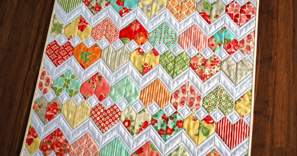Zig Zag Love Quilt Pattern : Hope s Quilt Designs: How It All Began - ZigZag Love