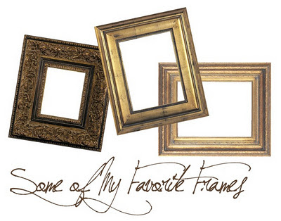 Karin Wells Studio: Some of My Favorite Ready-Made Frames