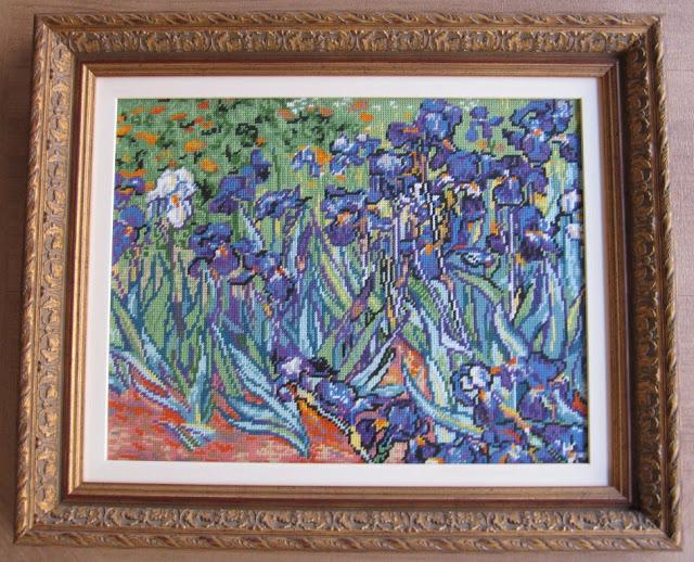 Los lirios de Vincent Van Gogh