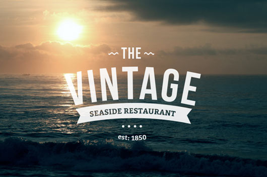 Retro and Vintage logo