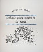 FECHADO PARA MUDANÇA DE RAMO - RUI AZEVEDO RIBEIRO - 150 EXEMPLARES - POESIA