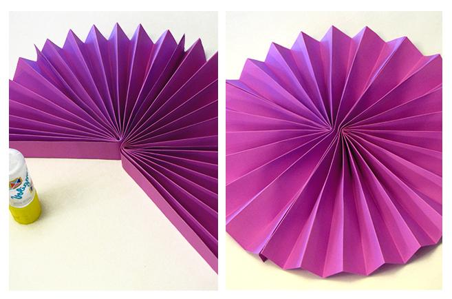 Bulub abanicos circulares - Como hacer un abanico ...