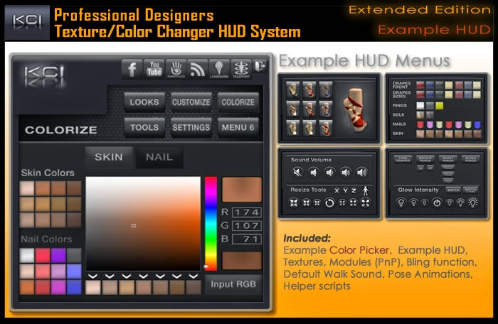 Advanced Picker Color Tool System