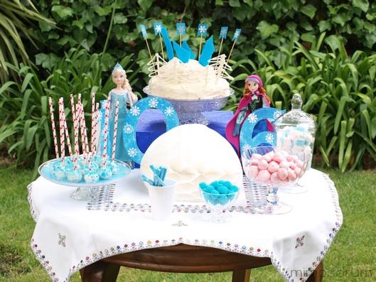 Mimosorum cumplea os frozen sencillo frozen birthday party - Cumpleanos en piscina ...