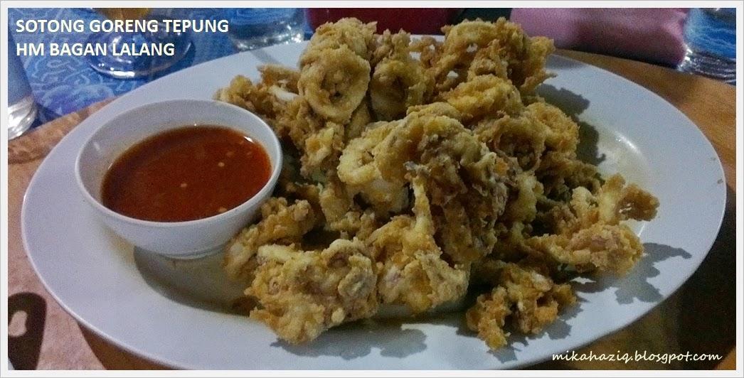 makan best seafood bagan lalang