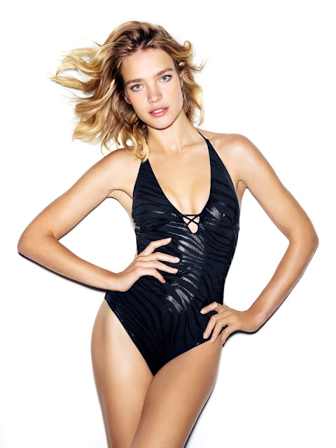 Natalia Vodianova - Etam SS 2013 Swimwear Collection
